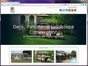 Breyer Construction web site design